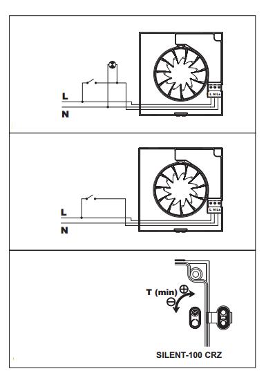 Silent-100 crz схема подключения